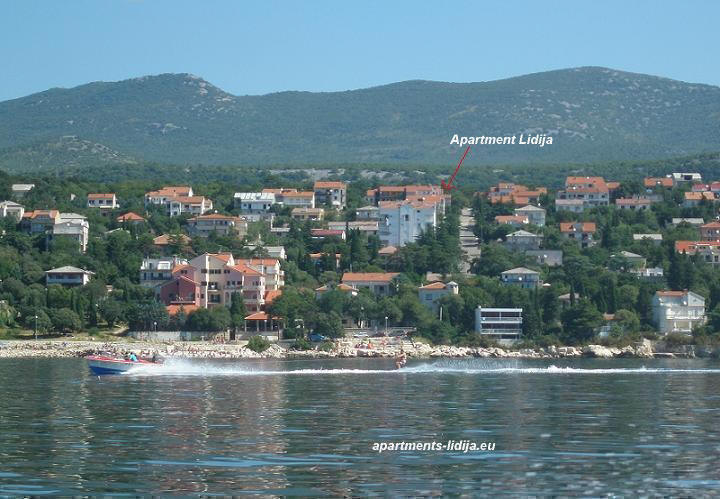 Position apartments Lidija